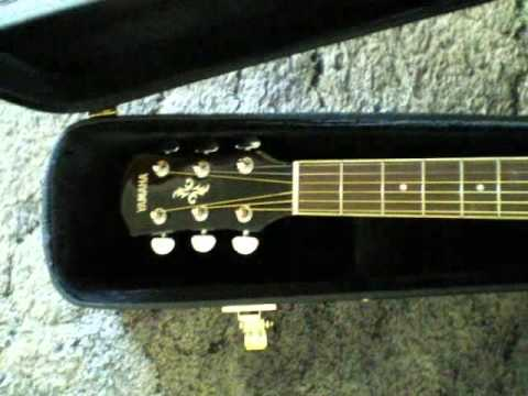 yamaha apx 500ii acoustic electric guitar unboxing youtube. Black Bedroom Furniture Sets. Home Design Ideas