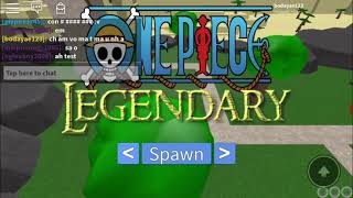 Roblox one piece legendary test trai ac quy smelt