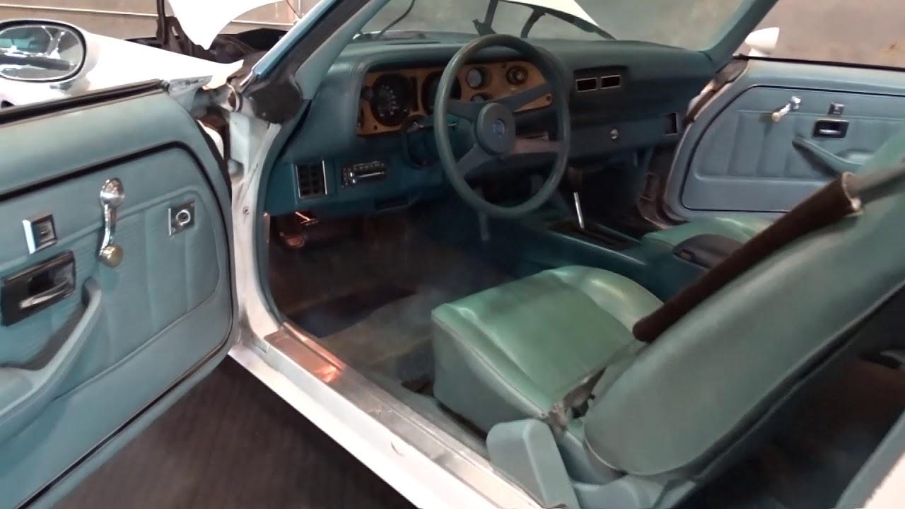 medium resolution of 1022 tpa 1977 chevrolet camaro 350 cid v8 3 speed automatic