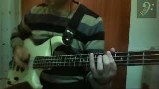 Negrita - In ogni atomo (bass cover)