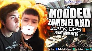 MODDED ZOMBIELAND!! - ft. Nudah, Telow (Black Ops 2 Funny Moments)