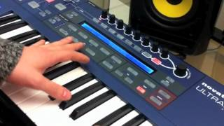 MAKING DEEP HOUSE CHORDS USING THE NOVATION ULTRANOVA