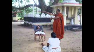The Devil Scream shock treatment by Sri Lankan Monk
