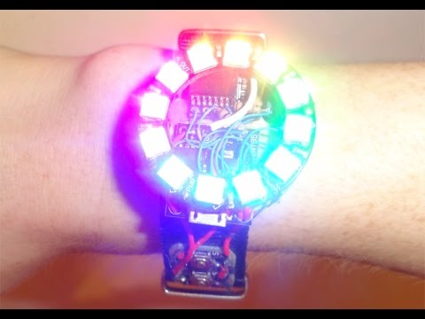 Fully Functional Arduino SmartWatch + Instructions !