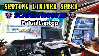 CARA SETTING ENGINE SCANIA K410 PAKAI LAPTOP | Canggih Tenaaan