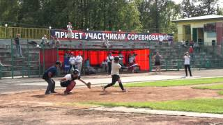 """Moscow Hunters"" on the Third Amateur Russian Baseball Championship 