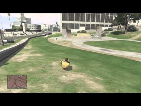 GTA V Online - Crazy frog glitch