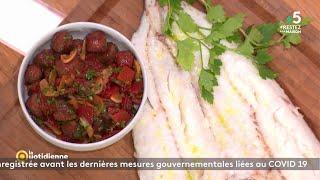 Coup d'food : Merlu de Saint-Jean-de-Luz et Txistorra des chefs Ramuntxo Courdé & Eric Ospital