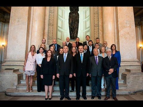 Lorenzetti y Maqueda encabezaron el acto de apertura de la asamblea general de la Red Iberoamericana de Escuelas Judiciales