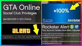 GTA ONLINE FREE MONEY IS HERE! - NEW DLC CONTENT RELEASE DATES, SECRET GTA 5 BONUSES & MORE!