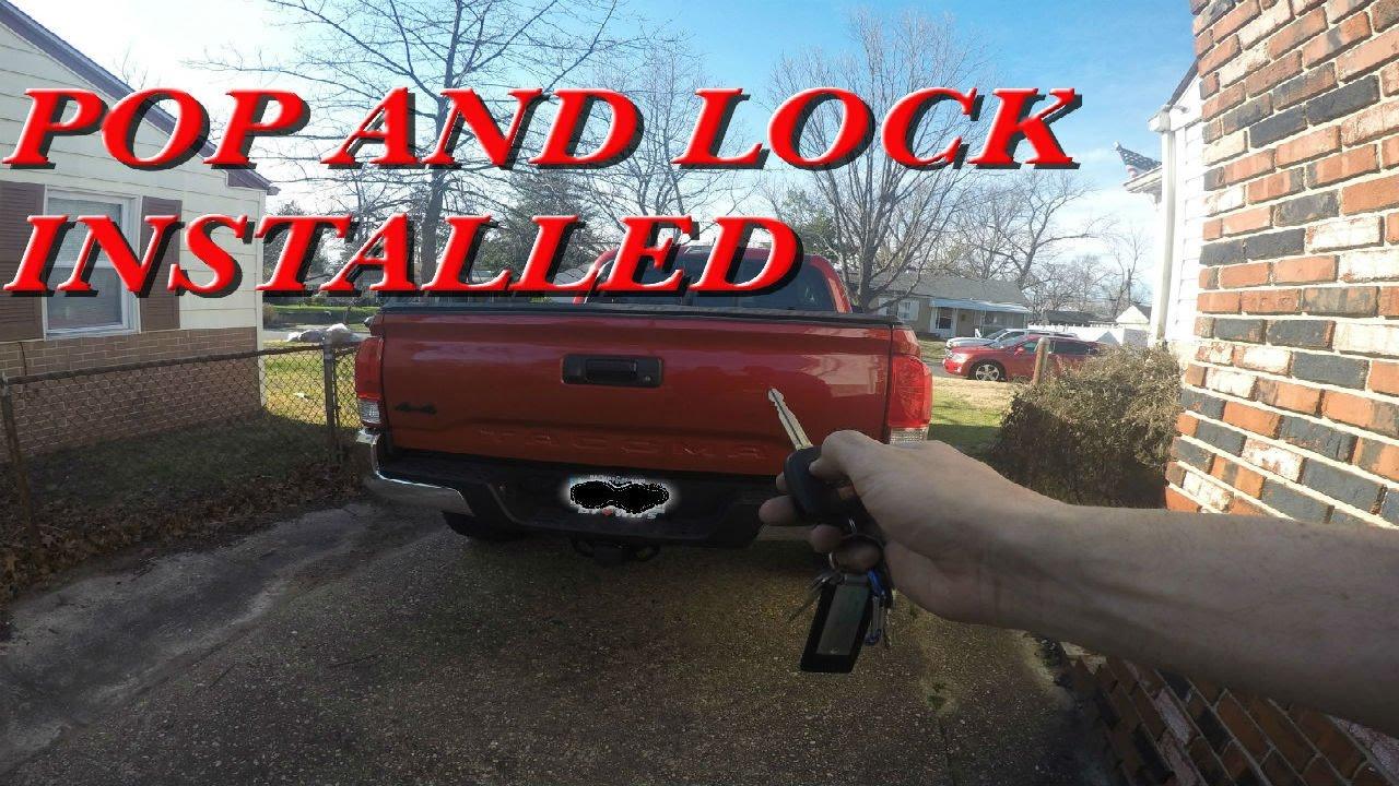 Tacoma Pop and Lock Install