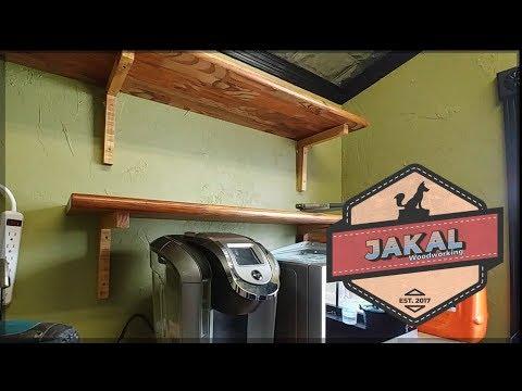 DIY Wooden Shelf Brackets - Easy Woodworking Project