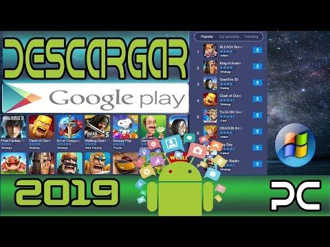Descargar Google Play O Playstore Para Pc 2019 (Actualizado)