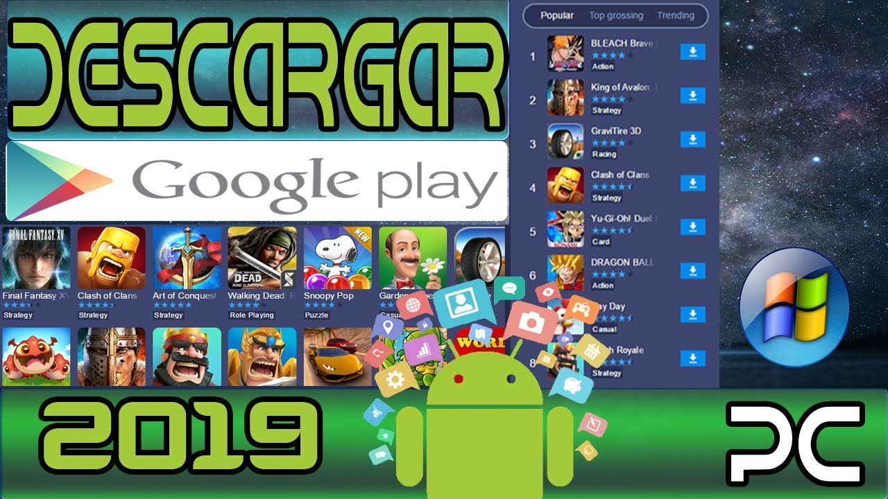 google play descargar juegos gratis para pc