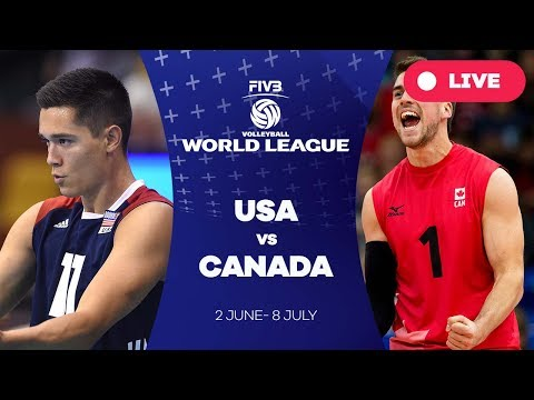 USA v Canada - Group 1: 2017 FIVB Volleyball World League