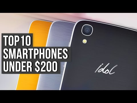 Top 10 Smartphones Of 2016 Under $200