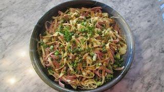Noodle Salad, Hiyashi Ramen