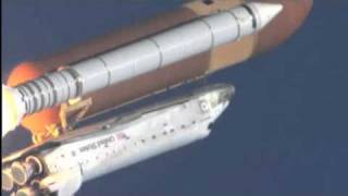 Part 4: Space shuttle launches high-speed video camera slow motion views