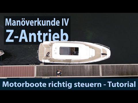 Manövrieren mit Z-Antrieb - Anlegen & Ablegenиз YouTube · Длительность: 7 мин5 с