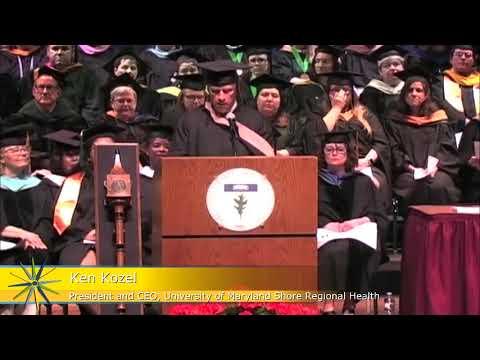 Chesapeake College's 2018 Commencement - Ken Kozel