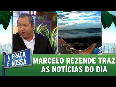Marcelo Rezende traz as notícias do dia | A Praça É Nossa (09/03/17)