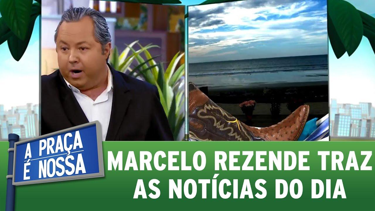 Marcelo Rezende traz as notícias do dia   A Praça É Nossa (09/03/17)