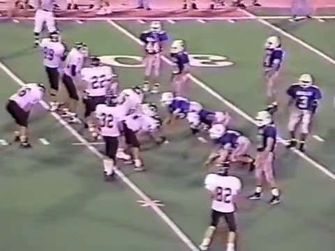 Clarksville Academy vs East Robertson football 1995