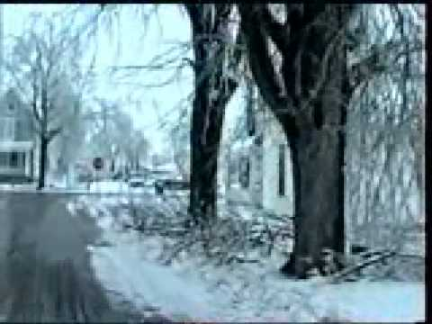 Carroll County Ice Storm 1991 - video 1