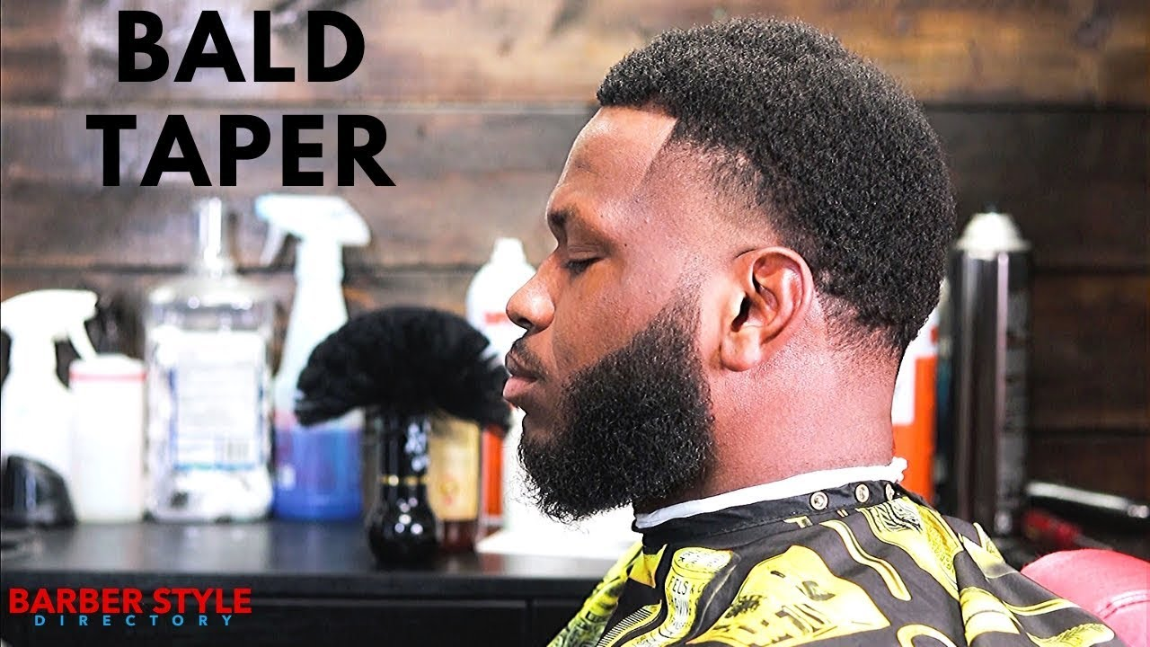 High Taper W Beard Lineup Haircut Tutorial Barber Style Directory Youtube