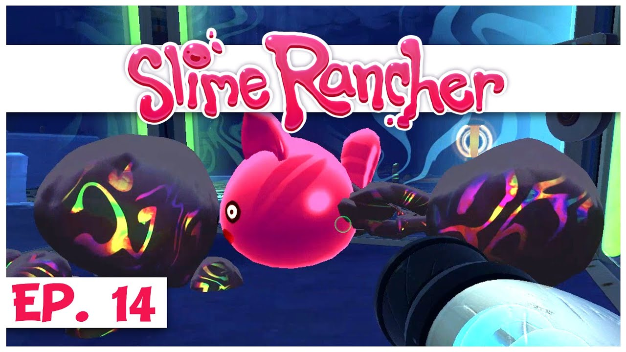Slime Rancher Ep 14 Testing Tarr In The Grotto Cave