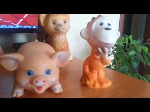 резиновые игрушки ссср и югославии