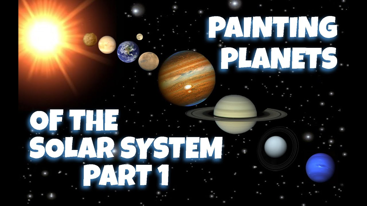 Painting planets of the solar system part 1 mercury and venus painting planets of the solar system part 1 mercury and venus ccuart Images