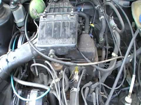 vw golf mk 2 1600cc petrol engine reg for sale youtube. Black Bedroom Furniture Sets. Home Design Ideas