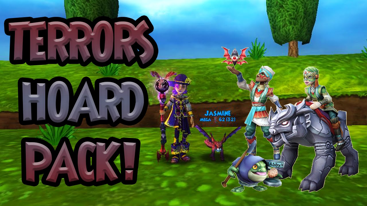 Wizard101: NEW Road Warrior's Hoard Pack |