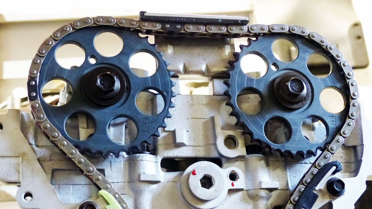 step by step diy timing chain kit installation
