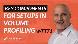 Key Components for Setups in Volume Profiling | Webinar with FuturesTrader71 \u0026 Convergent Trading