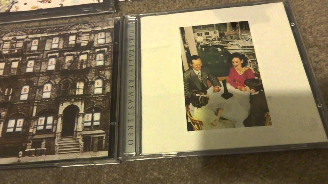 led zeppelin cd collection youtube. Black Bedroom Furniture Sets. Home Design Ideas