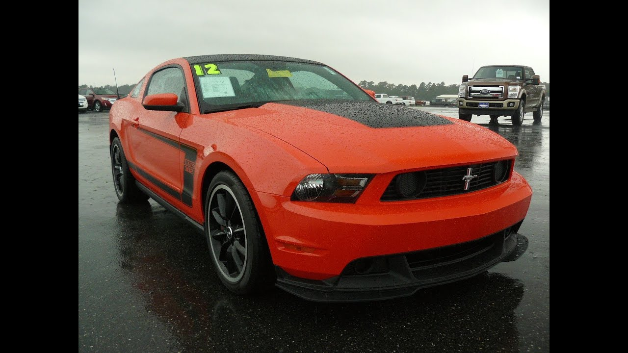 Used car 2012 ford mustang boss 302 for sale maryland dealer