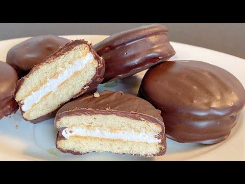 Choco_pie.Công thức làm bánh chocopie ngon như ngoài hàng_Bếp Hoa