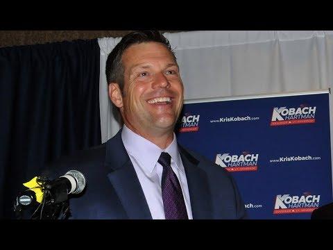 Kris Kobach, Trump's Top Vote Suppressor, Wins Kansas Primary