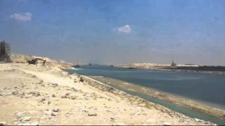 See the new Suez Canal on the anniversary of the Tenth of Ramadan work 24 hours