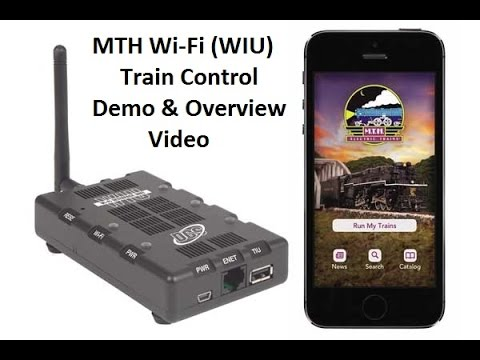 MTH DCS Wifi (WIU) Train control Demo & Overview (Standard version)
