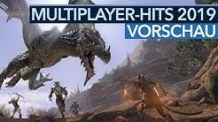 Multiplayer-Hits 2019 - Die 15 meisterwarteten Geheimtipps und Blockbuster