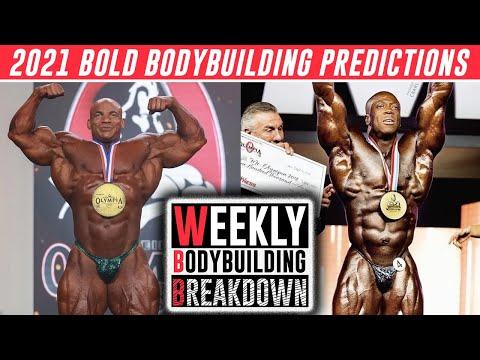 2021 BOLD Bodybuilding Predictions! Big Ramy to lose Mr Olympia? Shawn Rhoden in? WBB #21