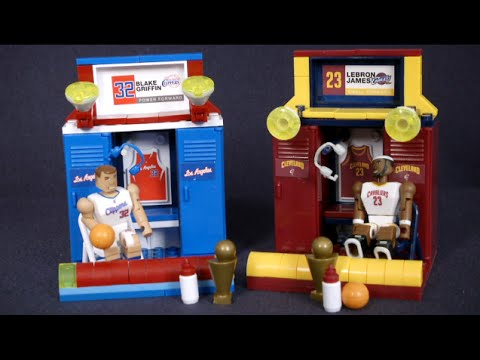 Nba Blake Griffin Amp Lebron James Locker Sets From The