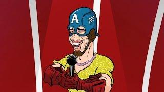 Capitão América Tem Talento | MAD