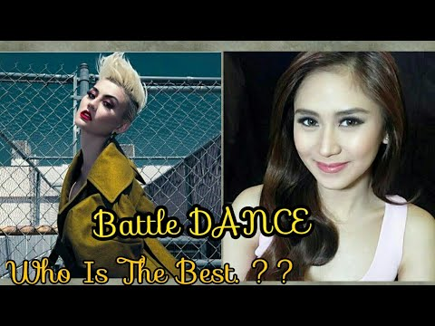 Battle Dance : AGNEZ MO & Sarah Geronimo - Who is the best ??