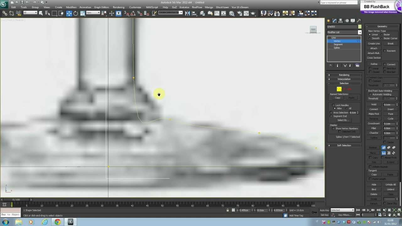 Tutorial 3ds max modellazione bicchiere materiale vetro vray rendering con caustics youtube - Materiale specchio 3ds max ...