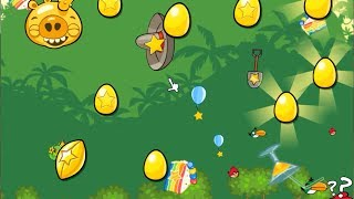 Angry Birds PC - Complete All Levels with Mighty Eagle and King Pig Golden egg