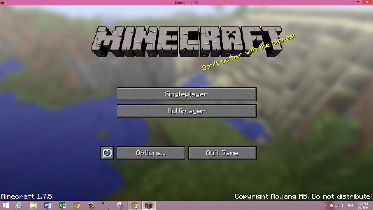 Minecraft Pc Version - Minecraft beta spielen